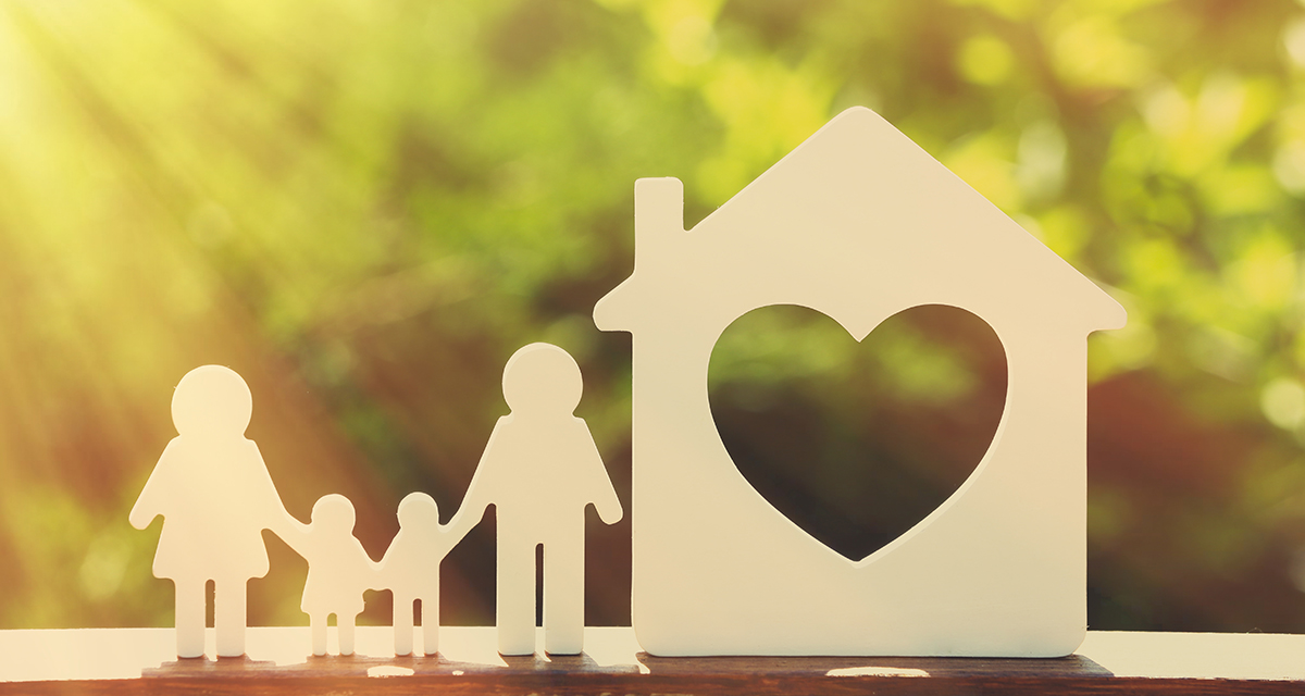 Family House Cutout
